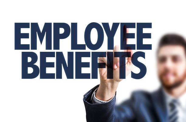 Beneficios para empleados - foto de stock