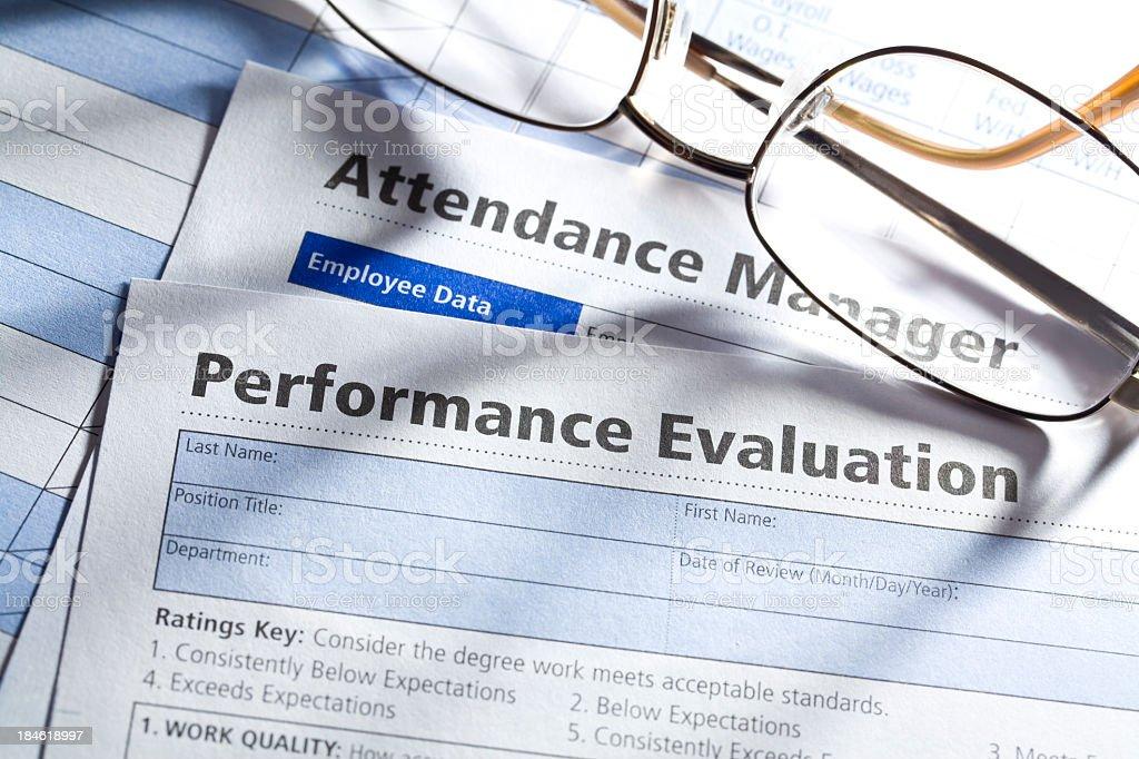 Employee Evaluation royalty-free stock photo
