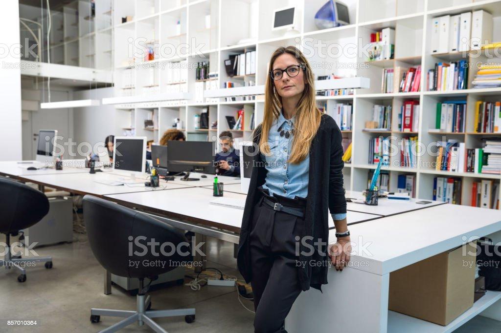 Mitarbeiter des Architektur- und Designbüro – Foto