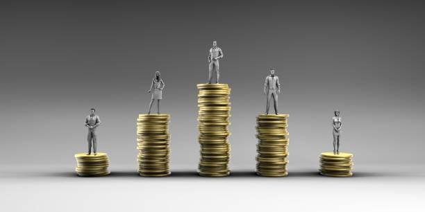 Employee Remuneration stock photo