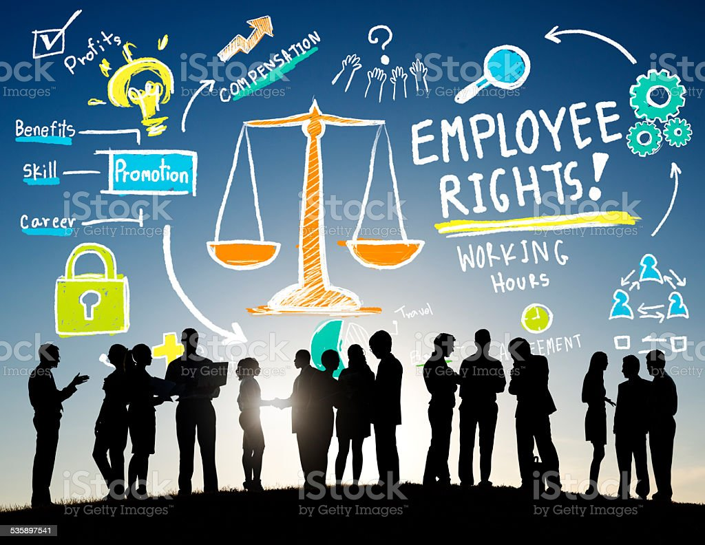 Employee Rights Employment Equality Job Business Communication stock photo