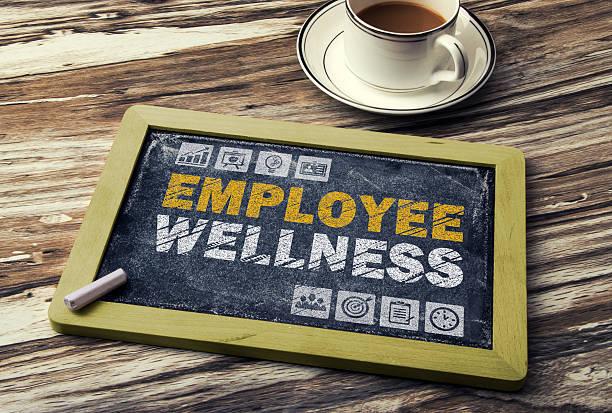 employee wellness concept stock photo