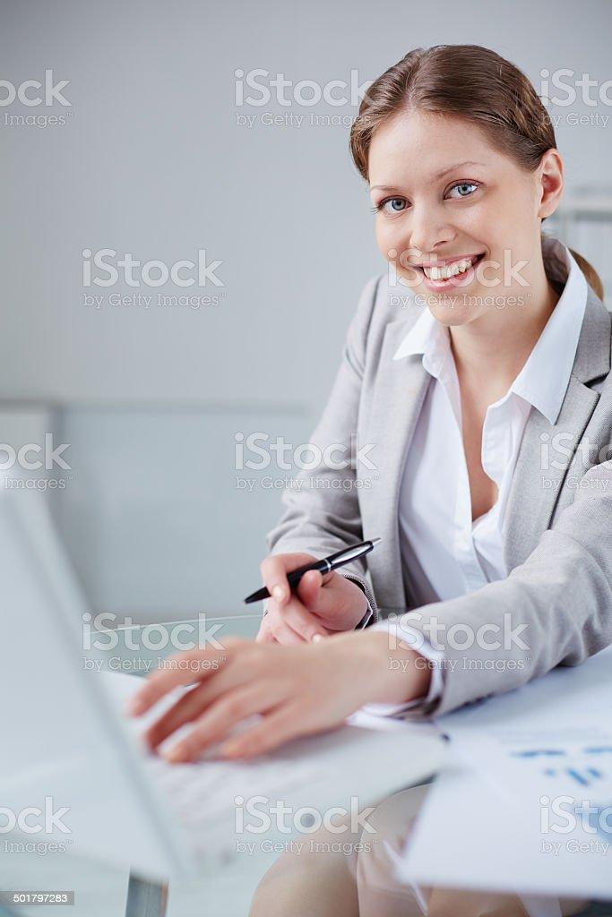 Mitarbeiter arbeiten Lizenzfreies stock-foto