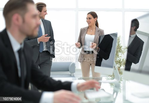 istock employees in a modern banking office 1027924004