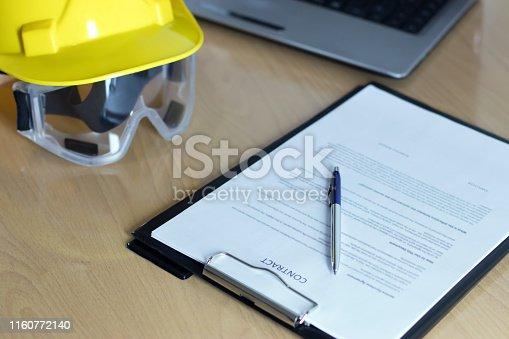 976560476 istock photo employment contract 1160772140