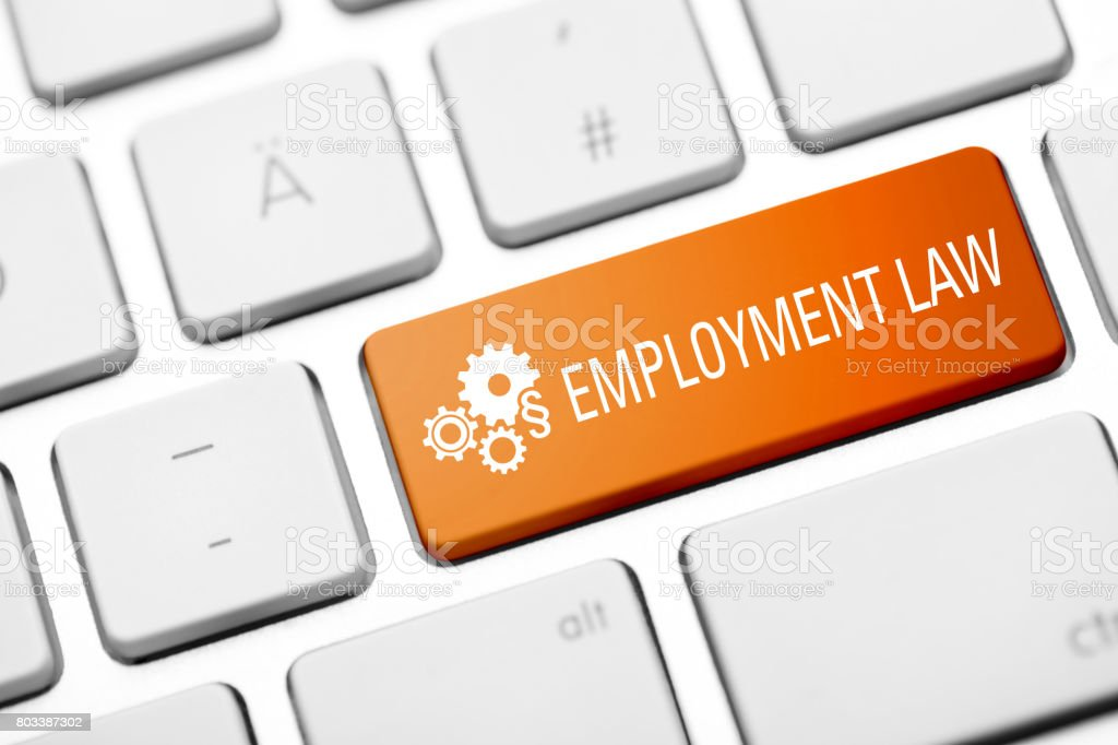 Beschäftigung-rechts-Taste auf Tastatur – Foto