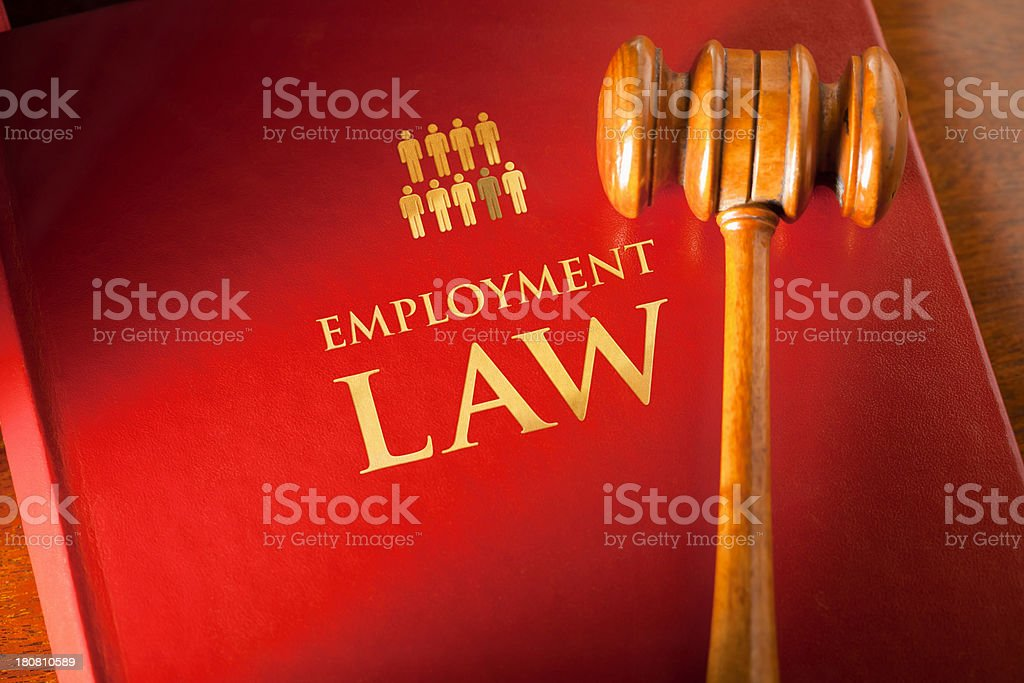 Employment Laws stock photo