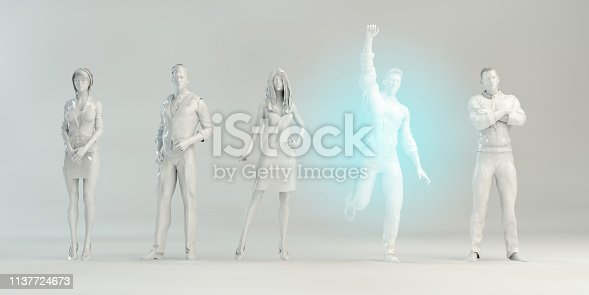 istock Empowered Business Person 1137724673