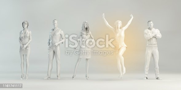 istock Empowered Business Person 1161741117