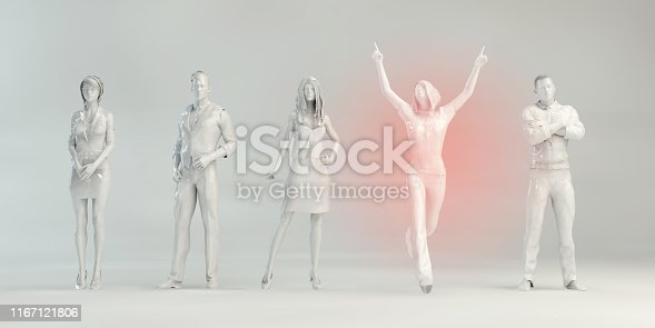 istock Empowered Business Person 1167121806