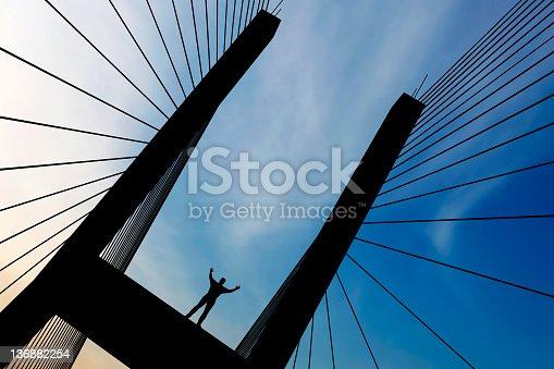 istock XXL empowered man silhouette 136882254