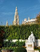 istock Empress Elisabeth Monument in Vienna, Volksgarten 1284176836