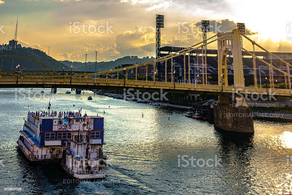 Pittsburgh, Pennsylvania, United States - July 31, 2016: The Empress...