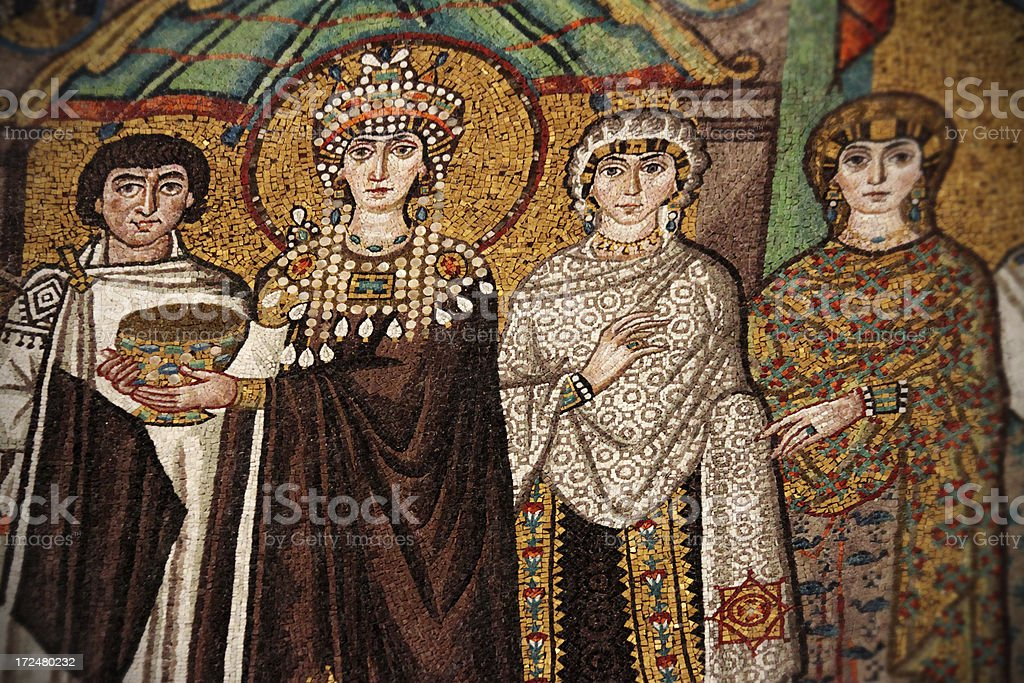 Empress Theodora stock photo