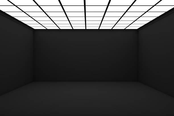 Empty 3d Room stock photo