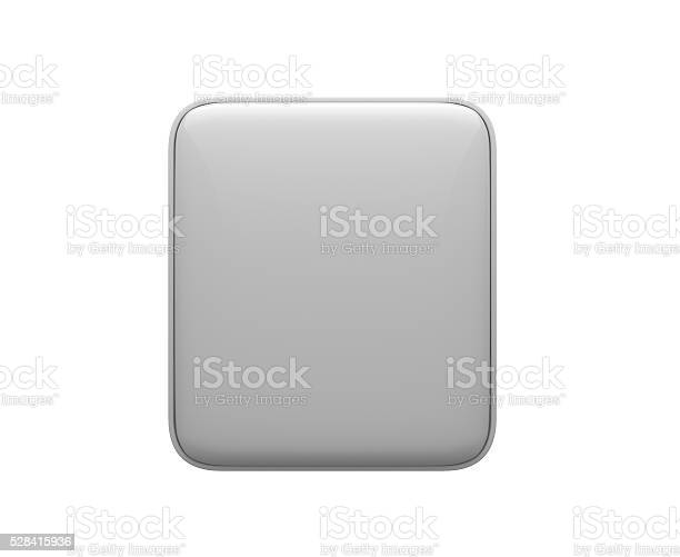 Empty 3d square push button icon white on white background picture id528415936?b=1&k=6&m=528415936&s=612x612&h=ycjkvl l2lgzherxw2vsq pkwqllypcpmpgmcux uw8=