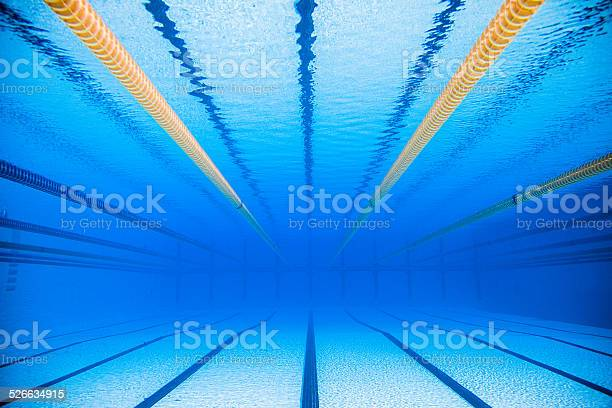 Photo of Empty 50m Olympic Outdoor Pool From Underwater
