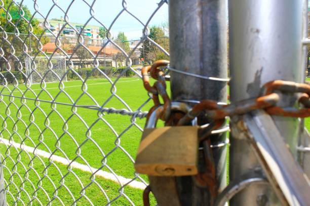 Stade vide de terrain de football 5x5 - Photo