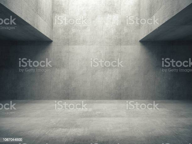 Empty abstract concrete room and lateral lights3d rendering picture id1067044500?b=1&k=6&m=1067044500&s=612x612&h=tcgnhqc4yrgqdu8i3fymluk2512nf1s4yzwz6nscj2w=