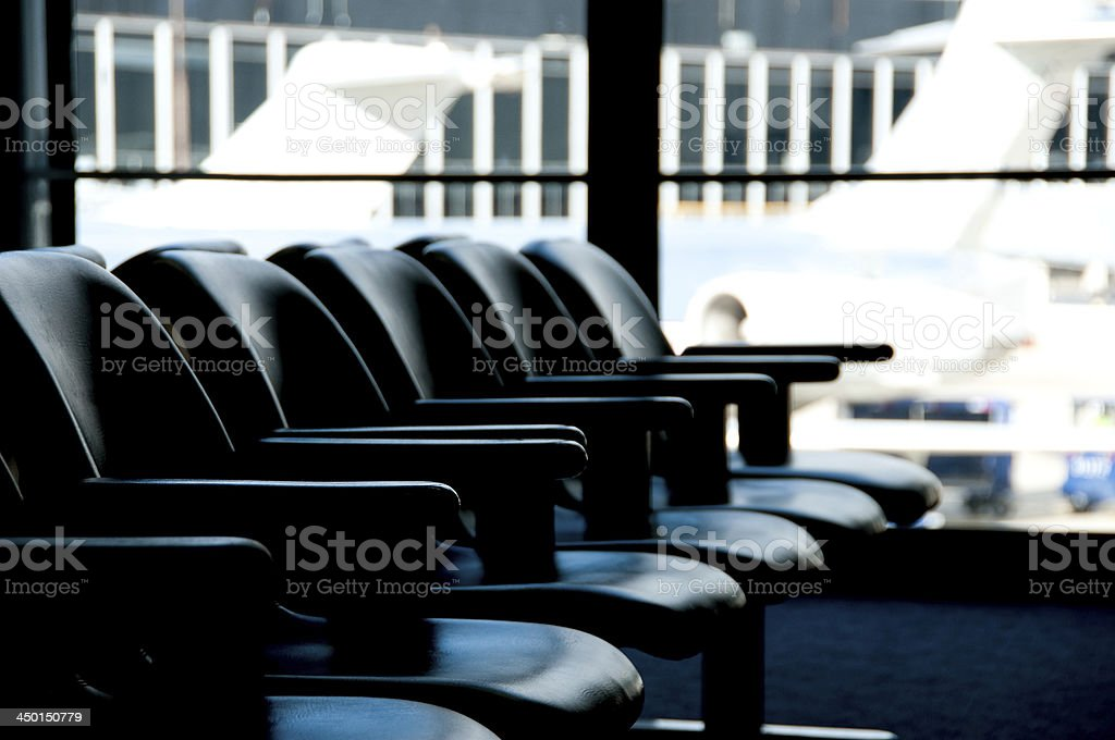 Empty Airport Concept royalty-free stock photo
