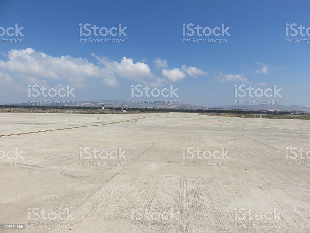 Empty Airport stock photo