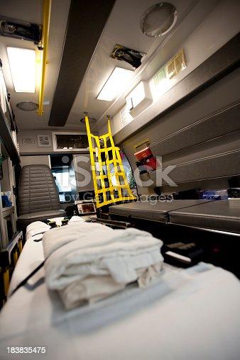 istock Empty Ambulance 183835475