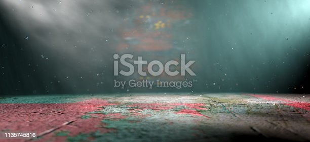 621925576 istock photo Empty and cinematic space indoor detail.3d illustration 1135745816