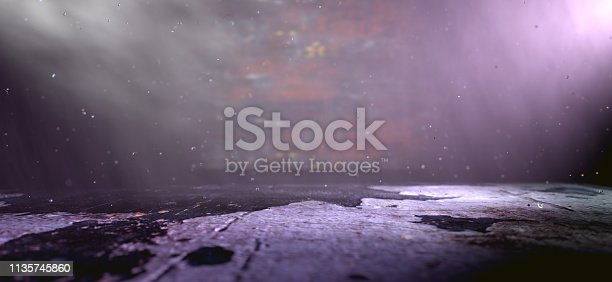 621925576 istock photo Empty and cinematic space indoor detail.3d illustration 1135745860