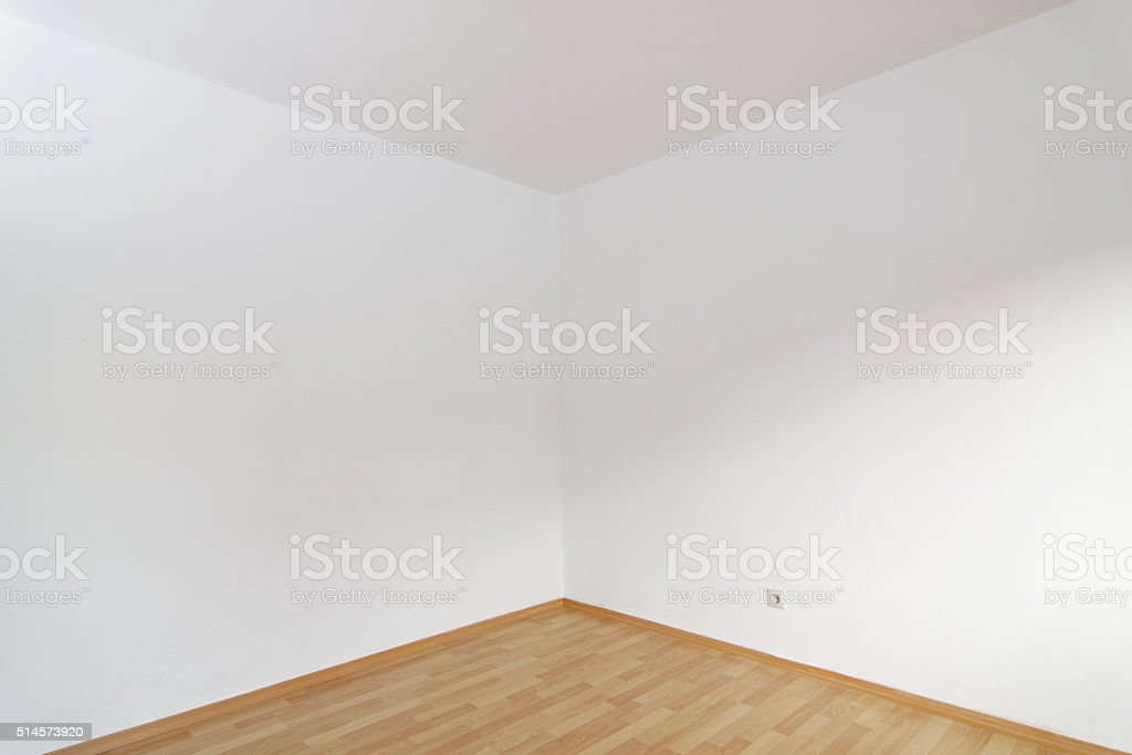 empty apartement room stock photo