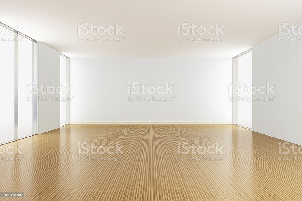 Empty Apartment living room royalty-free stock photo