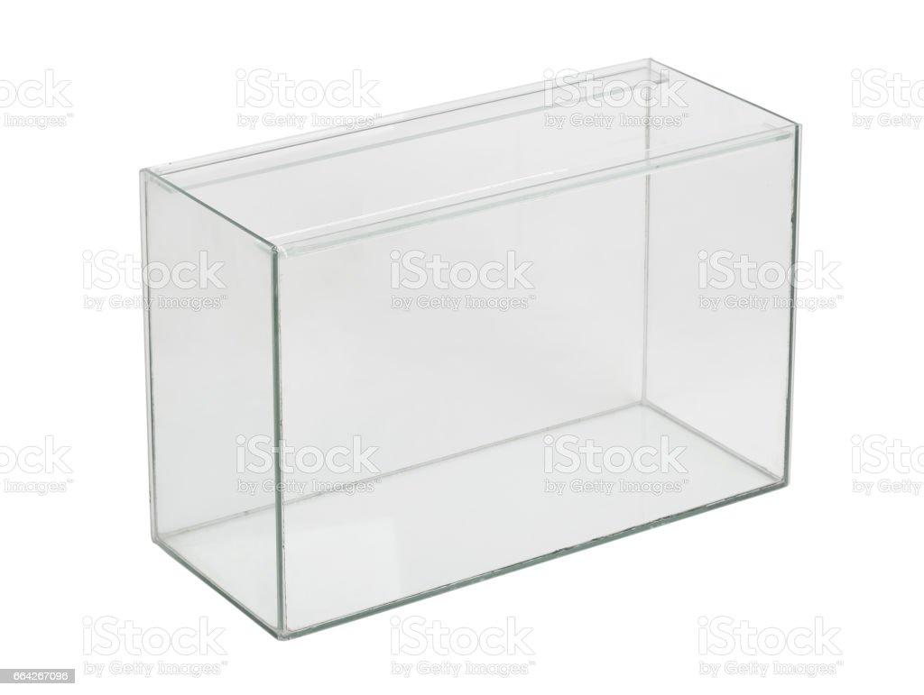 Empty aquarium stock photo