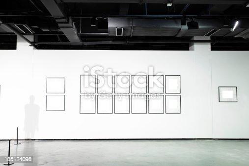 istock empty art museum 185124098