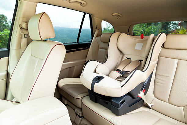 Empty baby car seat inside car Baby Car Seat in Vehicle Interiorhttp://i1215.photobucket.com/albums/cc503/carlosgawronski/BabyGoods.jpg baby seat stock pictures, royalty-free photos & images