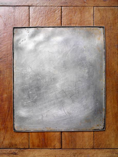 Empty Baking Tray stock photo
