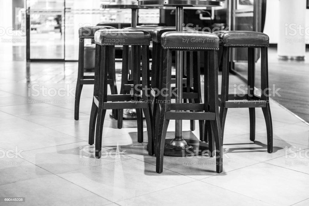 Empty bar and restaurant