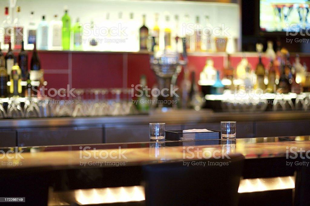 Empty Bar royalty-free stock photo