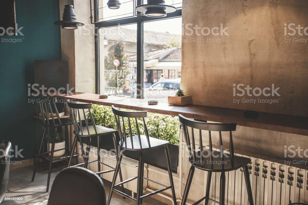 Leere bar – Foto
