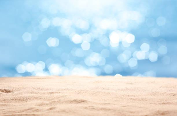 Leerer Strandhintergrund – Foto