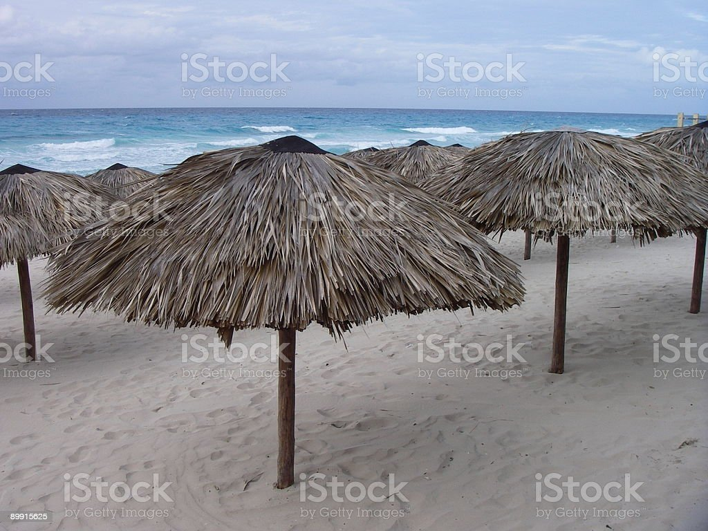 Empty Beach royalty free stockfoto