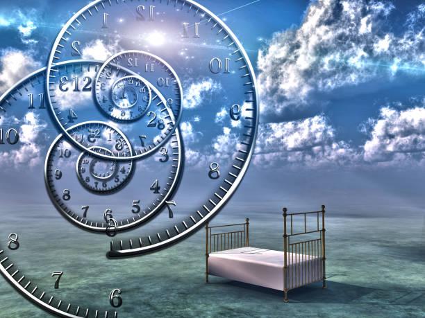 空のベッド - 精神と時の部屋 ストックフォトと画像