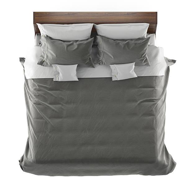 bett von oben bilder und stockfotos istock. Black Bedroom Furniture Sets. Home Design Ideas