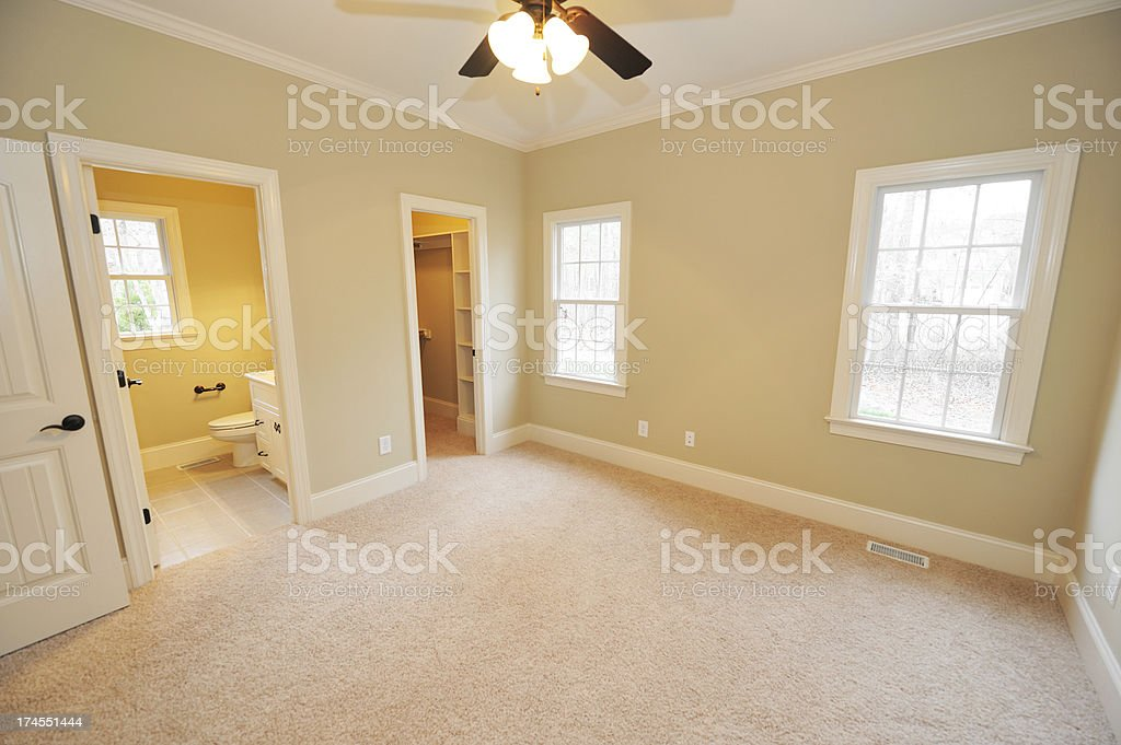 Empty Bedroom Stock Photo More Pictures Of Architectural Feature