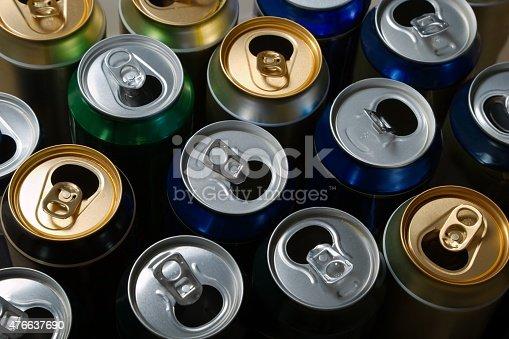 istock Empty beer cans 476637690