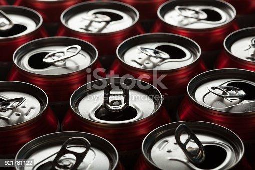 istock Empty beer cans 921781122