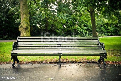 Bench in regent's park