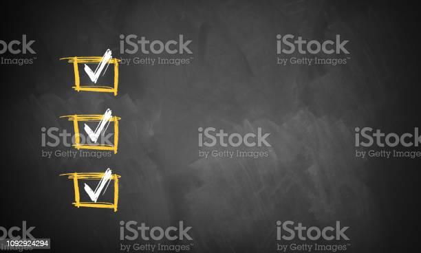 Empty blackboard with drawn checked boxes picture id1092924294?b=1&k=6&m=1092924294&s=612x612&h=rirrjt7wtzl2jy nbh9kt2tu9djust0bmnbn0akueza=
