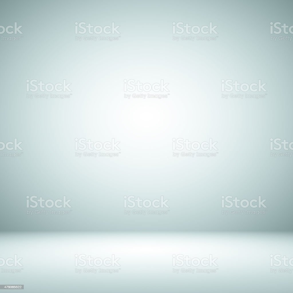 Empty Blue Studio well use as background. royalty-free stock photo