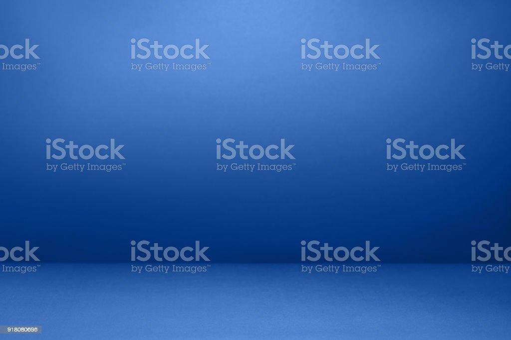 空藍色與黑色的插圖工作室以及作為背景使用。圖像檔