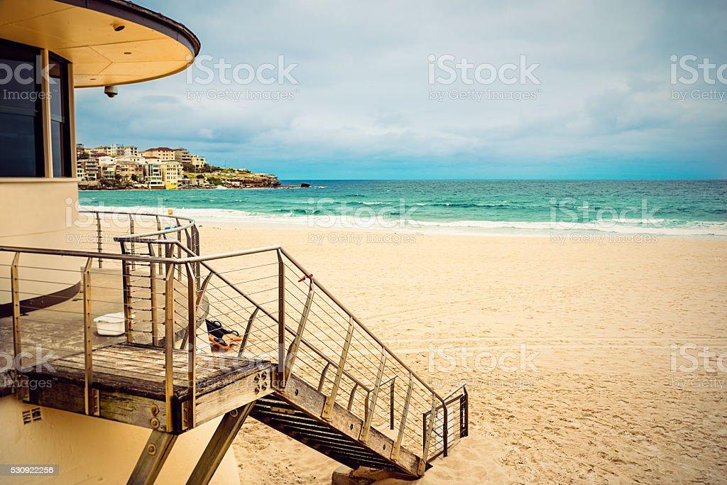 Vider sa plage Bondi Beach emblématique, Sydney - Photo