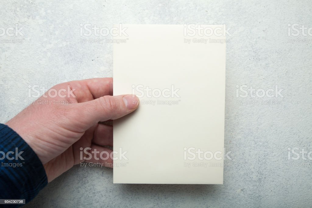 empty booklet pamphlet paper mockup stock photo more pictures of